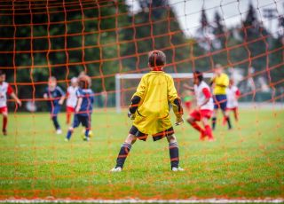 mecz piłki nożnej