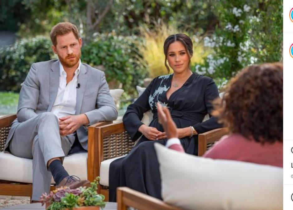 Meghan i Harry w wywiadzie z Oprah