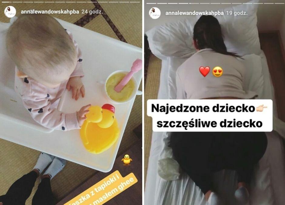 menu Klary Lewandowskiej i zabawa z mamą na obozie hpba