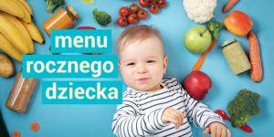 menu rocznego dziecka