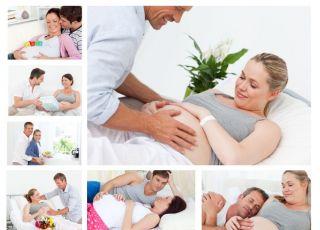 mężczyzna, kobieta, mama, tata, ciąża