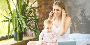 Mężczyźni stresują kobiety dwa razy bardziej niż dzieci!
