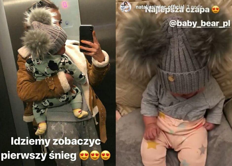 Natalia Siwiec z córeczką Mią