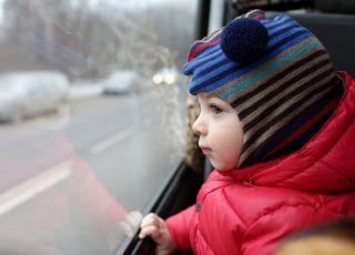 Miejsca dla dzieci w autobusie