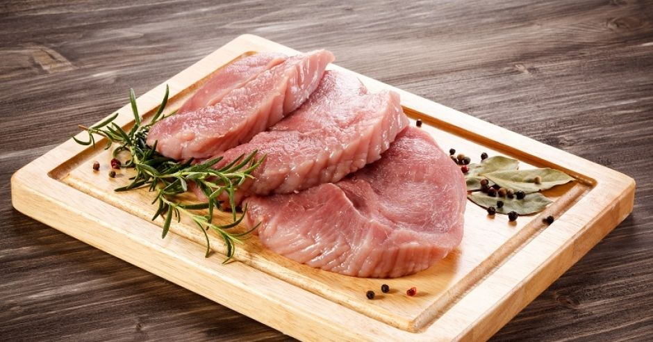 mięso wieprzowe, przyprawy
