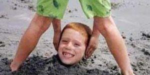 śmieszne zdjęcie, zabawne zdjęcie, plaża, wakacje