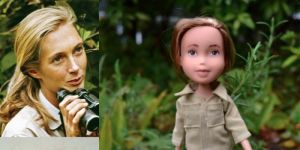 Mighty dolls - Jane Goodall