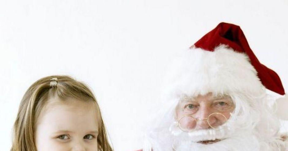 mikołaj, dziecko, święta, Boże Narodzenie