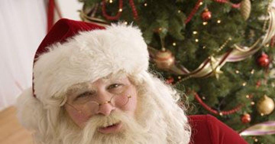 mikołaj, święta, Boże Narodzenie, choinka