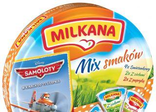 Milkana, serek, ser, Mix smaków