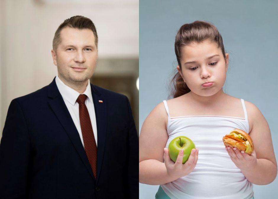 Minister Czarnek będzie walczył z otyłością, głównie WŚRÓD DZIEWCZYNEK