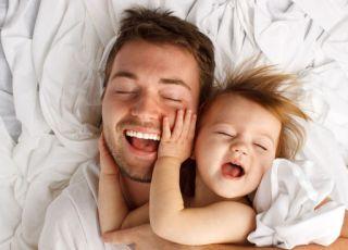 Miłość taty do dziecka
