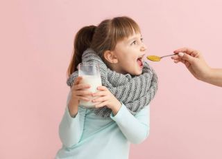 miód na przeziębienie
