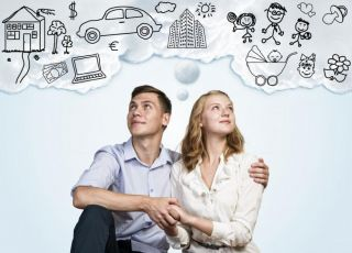 Młode małżeństwo planuje wspólne życie i założenie rodziny