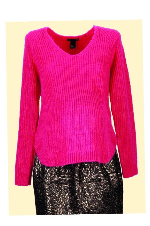 moda dla ciężarnej, sweter dla ciężarnej