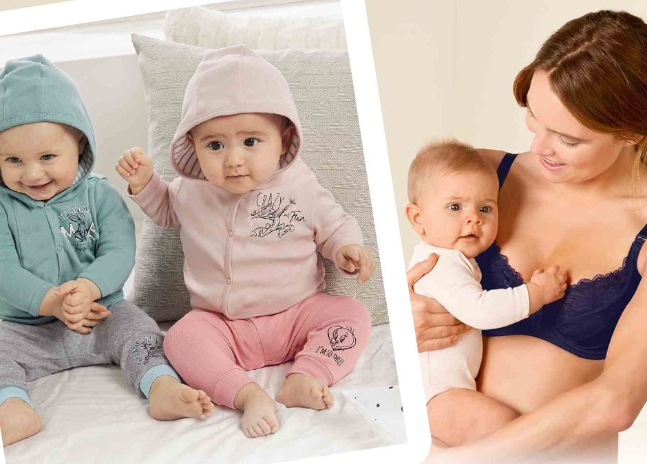 moda dla niemowląt i ciężarnych plus zabawki ogrodowe w Lidlu