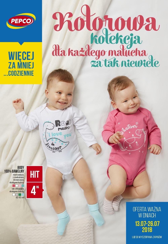 Body niemowlęce w Pepco za 4.99zł!