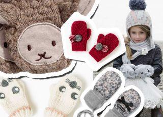 Zimowe rękawiczki dla maluchów i starszaków. Te są najładniejsze! [GALERIA]