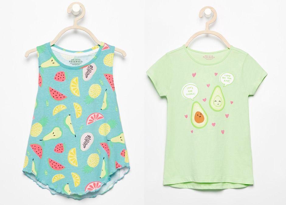 T-shirty Reserved dla małych dziewczynek, reserved.com