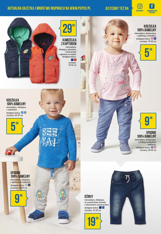 Modne ubranka dla dzieci w Pepco
