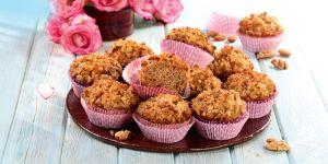 Muffinki orzechowo-migdałowe