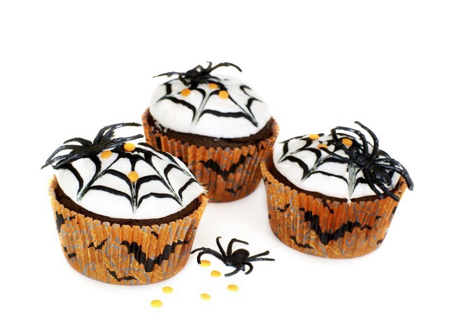 muffiny, muffinki, halloween