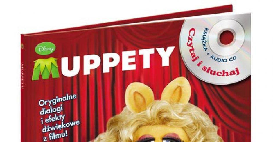 Muppety, filmy dla dzieci, bajki dla dzieci, Muppety na CD, książki dla dzieci