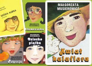 Musierowicz książki seria Jeżycjada - przetestuj swoją wiedzę