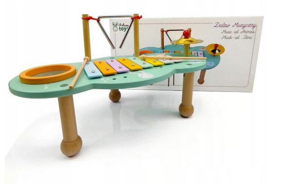 zabawki dla dzieci z autyzmem stolik muzyczny