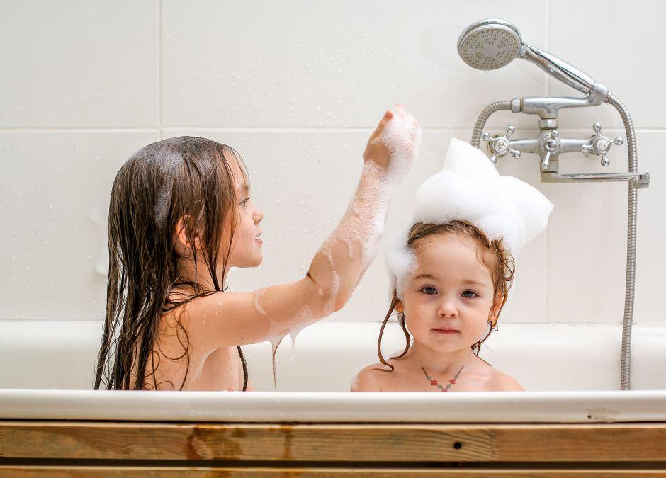mycie włosów, kąpiel