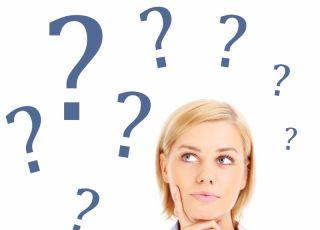 myślenie, pytanie, kobieta
