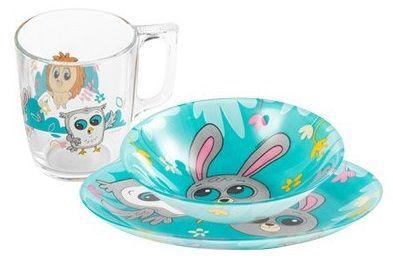 Szklane naczynia ze Słodziakami z Biedronki