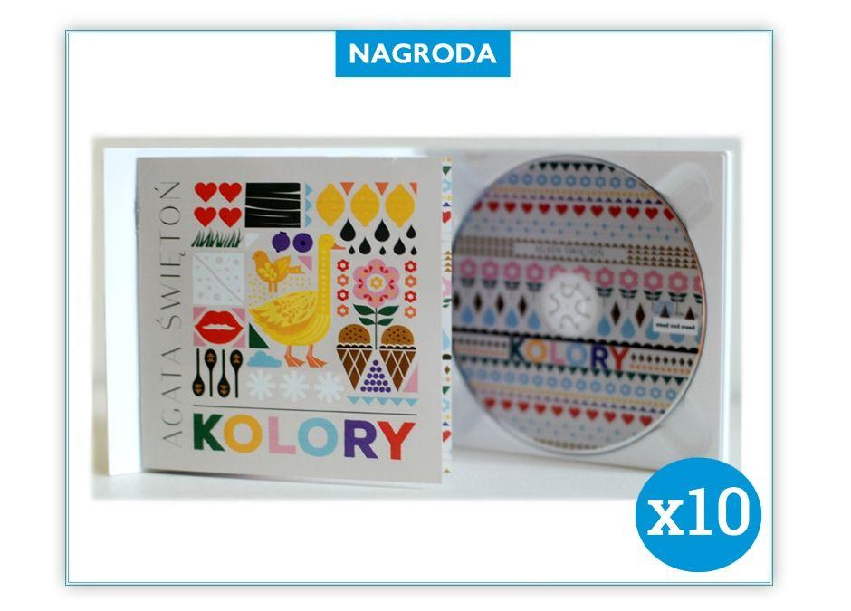 nagroda płyta kolory