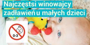najczęstsze przyczyny zadławień u dzieci