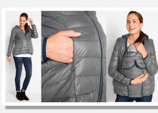Idealna kurtka ciążowa na jesień? Te będą rosły razem z brzuszkiem, a po ciąży też będą pasować!