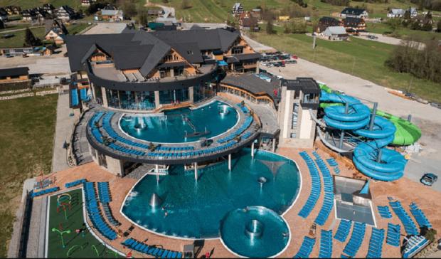Top 11 aquaparków w Polsce - Termy Chochołowskie