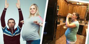 najlepsze ciążowe historie kobiet okiem mężczyzn