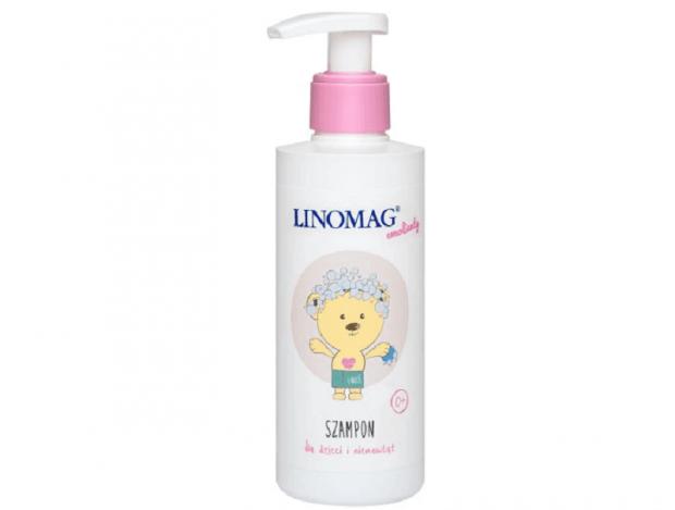 Emolient szampon do włosów Linomag