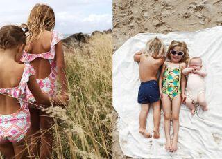 Falbanki i wycięcia - stroje kąpielowe dla dziewczynek. Te są naprawdę super! [GALERIA]