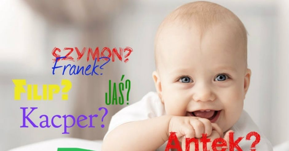 najopularniejsze imiona dla chłopców