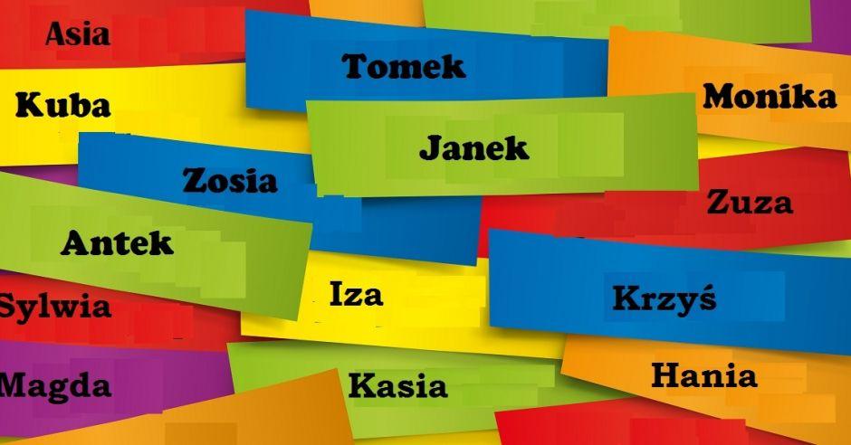 Najpopularniejsze imiona dla dzieci w Warszawie w 2015 r.