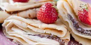 naleśniki z czekoladą, naleśniki z owocami, przepis na naleśniki, bajeczne naleśniki, przepisy dla dzieci