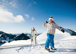narty, Dolina Stubai, Alpy