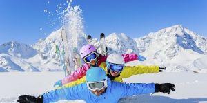 narty z dzieckiem w Austrii