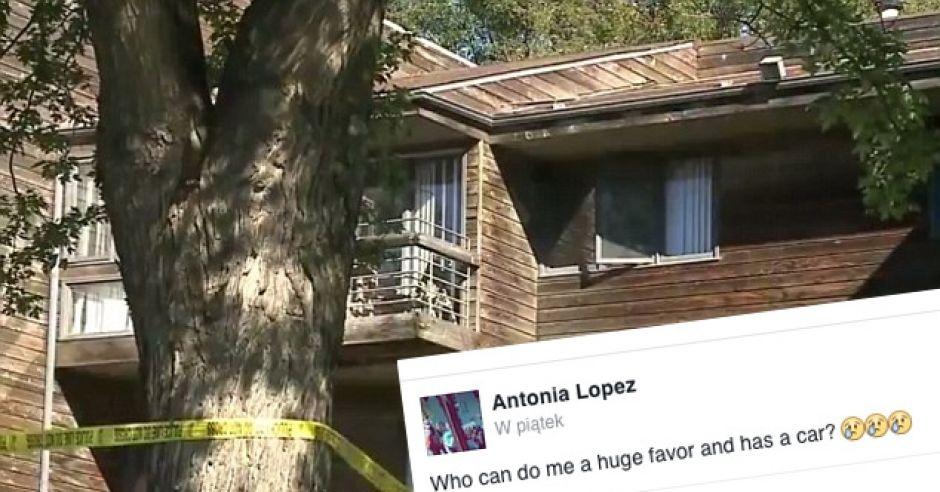 Nastolatka wyrzuciła noworodka przez okno