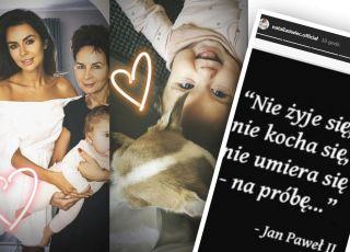 natalia siwiec z mamą i córką Mią oraz z przesłaniem dla ludzi