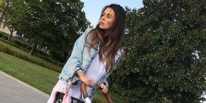 Natalia Siwiec z wózkiem