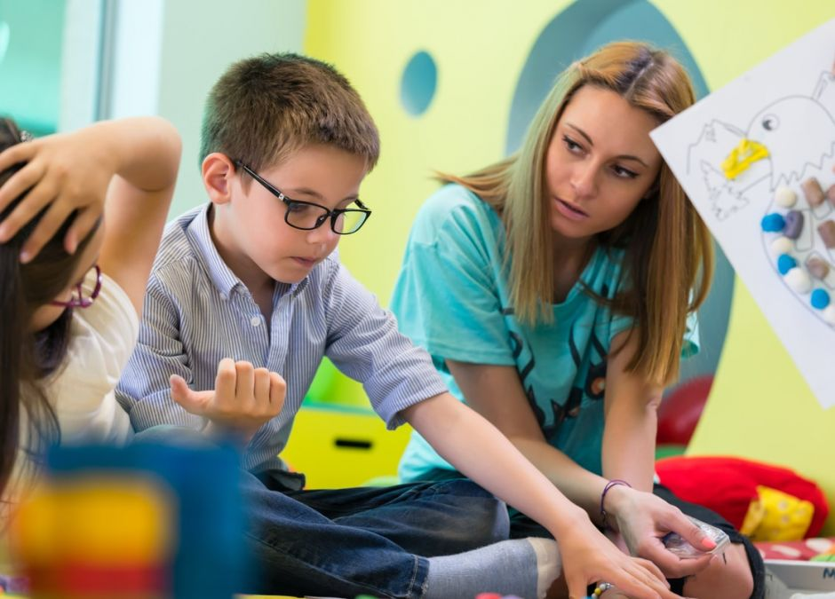 nauczycielka przedszkola