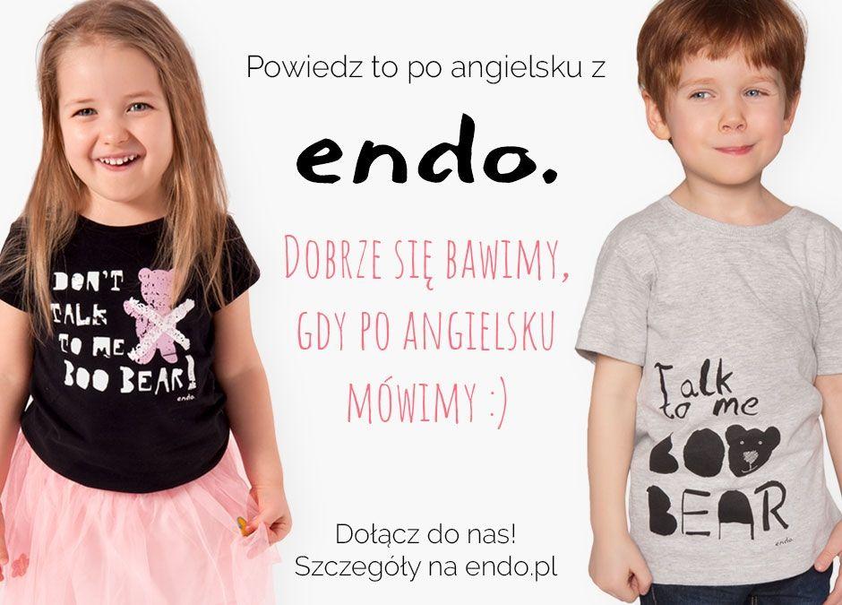 nauka angielskiego dla dzieci z ENDO