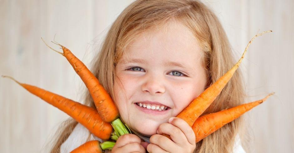 Nie mów dziecku, że warzywa są zdrowe. Mów, że są pyszne!